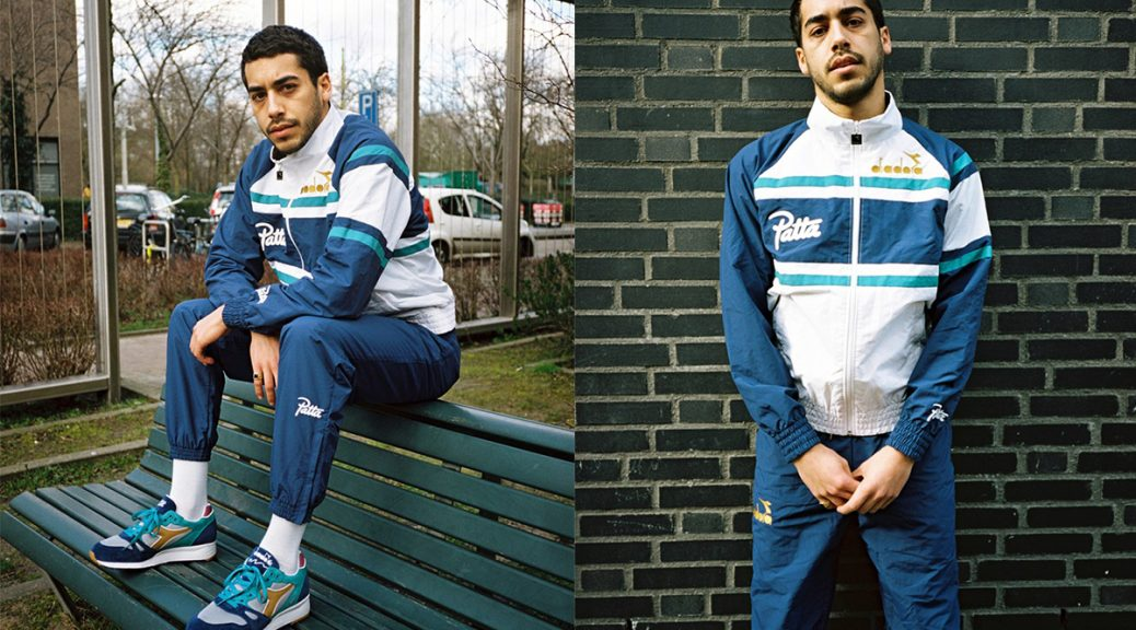 Diadora x Patta S.8000 and 90s Tracksuit